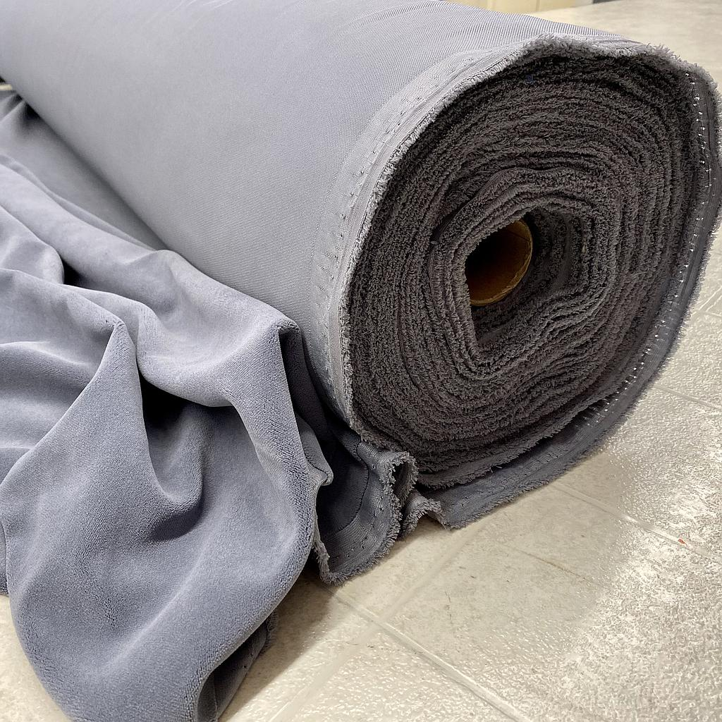"54"" Crescent Velour 20 oz. - Pewter- IFR (SOLD)"